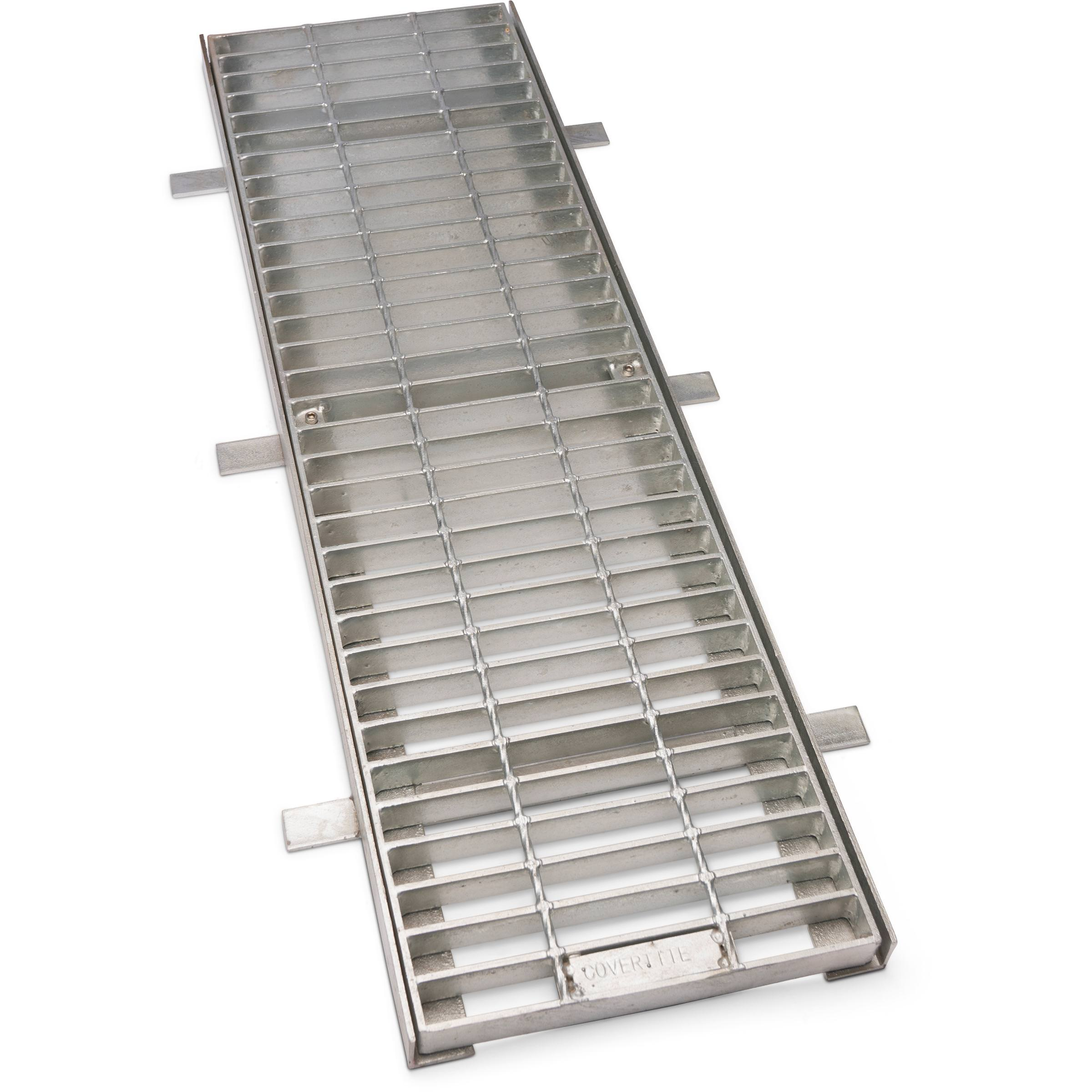 Galvanised Mild Steel Trench Grate